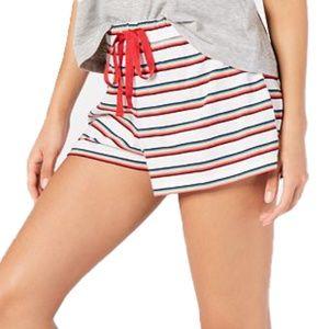 Jenni Rainbow Stripe Sleep Lounge Pajama Shorts M